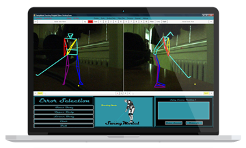 C# desktop app that calculates and graphically displays the trajectory of a golf ball