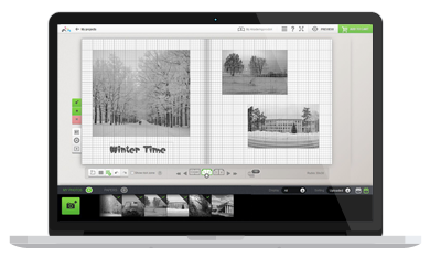 .NET-based web-to-print system for online photobook creation