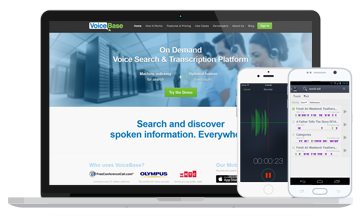 JavaScript plugin and Cordova-based mobile applications for audio file transcription