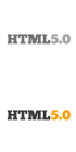 HTML5.0 markup designers for hire